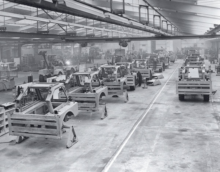 JCB's Production Line 1958