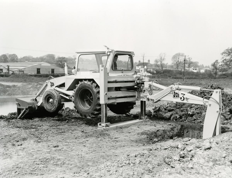 JCB Backhoe Loader 1963