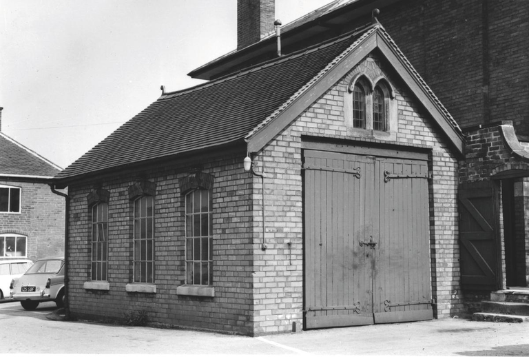 JCB's First HQ, a lockup garage 1945
